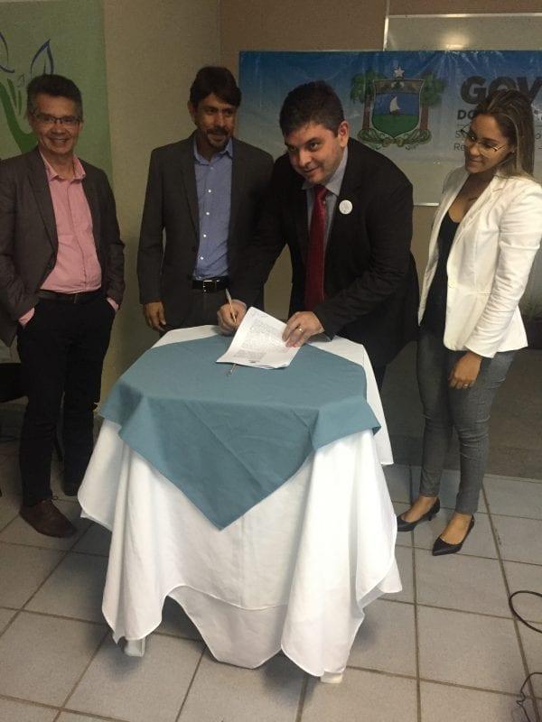 Semarh firma parceria com Universidades e Prefeituras pra recuperar nascentes do rio Apodi-Mossoró