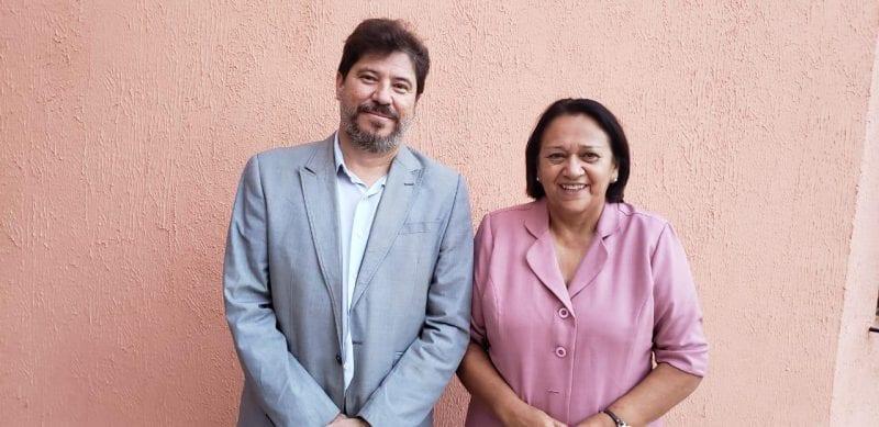 Governadora Fátima anuncia Aldemir e Jaime Calado para Finanças e Desenvolvimento
