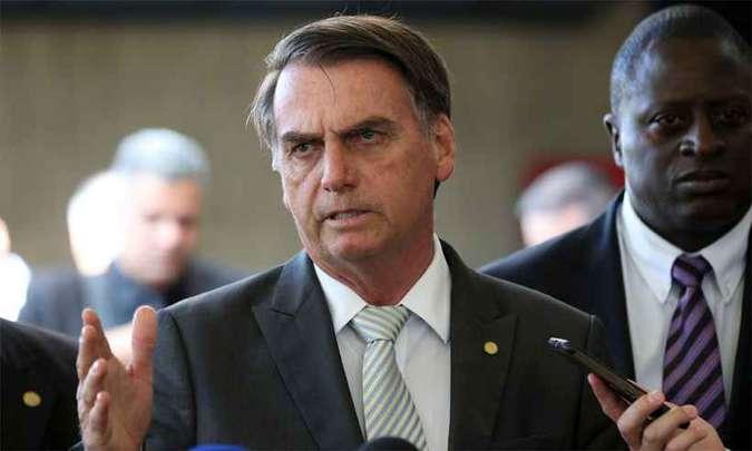 Bolsonaro diz que futuro ministro Marcos Pontes visitará Israel em janeiro