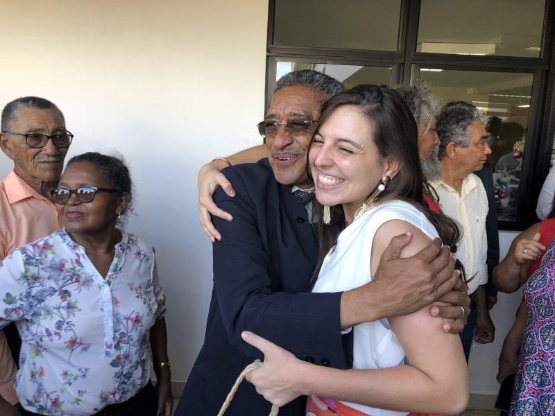 Deputado Vicentinho representa o PT nacional na posse