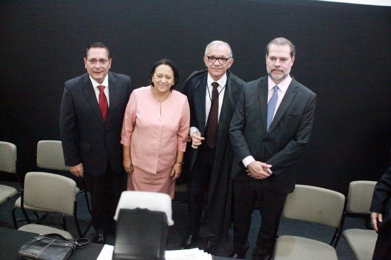 Governadora participa da cerimônia de posse da nova diretoria do TJRN