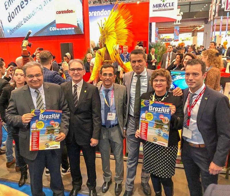 Prefeito Álvaro Dias participa de lançamento do voo charter da Holanda para Natal