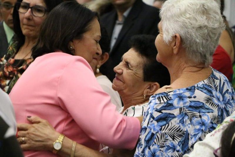 Em Parelhas, governadora prestigia Festa de São Sebastião