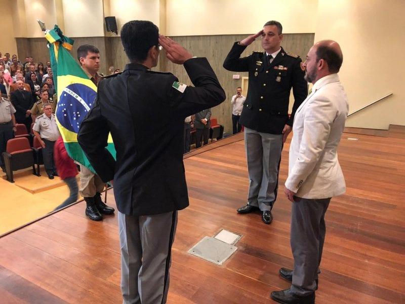 Corpo de Bombeiros Militar promove Passagem de Comando
