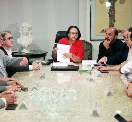 Sebrae apresenta à governadora projetos sobre turismo e microempresa