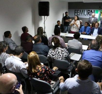 Governadora Fátima diz a prefeitos que fará governo de parcerias