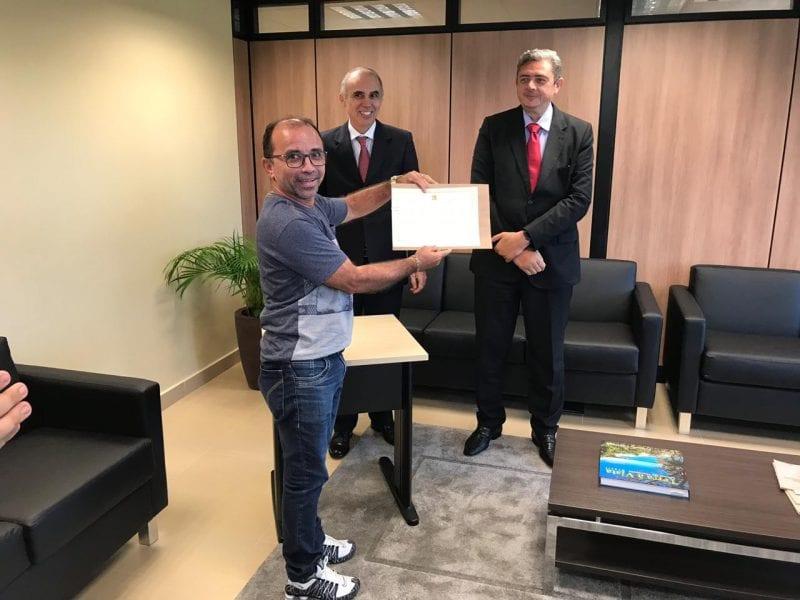 TRE-RN diploma Sandro Pimentel