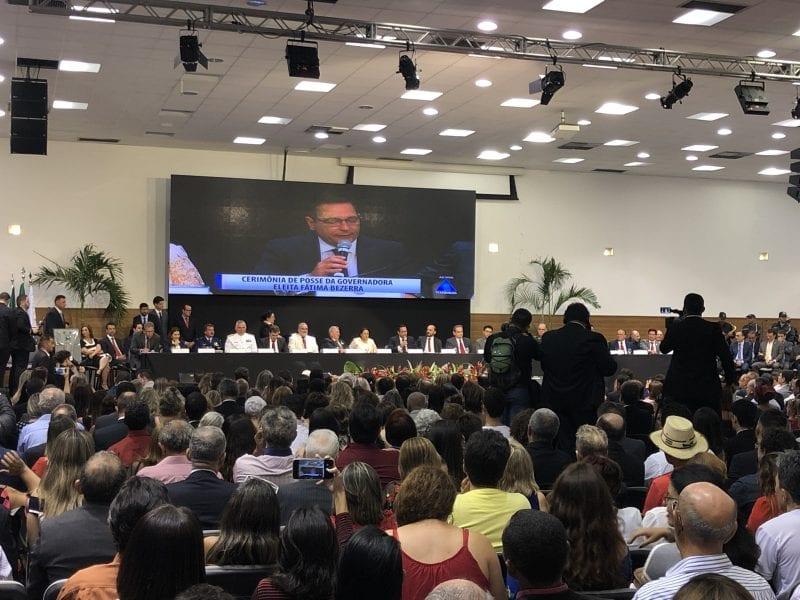 Novas fotos da posse da governadora Fátima Bezerra