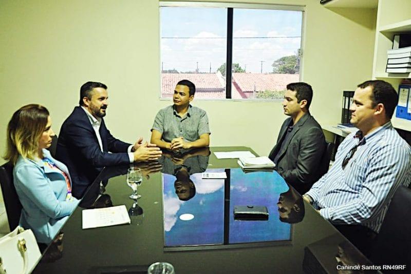 Em reunião na Prefeitura de Extremoz, Caixa Econômica anuncia a retomada dos financiamentos habitacionais no município para 2019