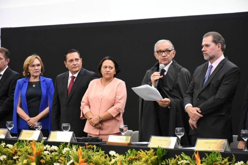 Presidente da Assembleia Legislativa deseja êxito ao novo dirigente do Judiciário Potiguar