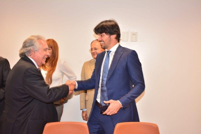 Deputado Fábio Faria inaugura 3ª Secretaria da Câmara