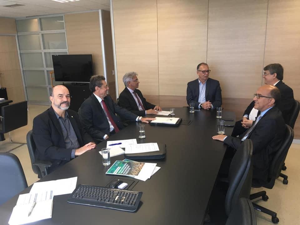 Secretário de Recursos Hídricos pede ao Governo Federal recursos para o projeto Seridó