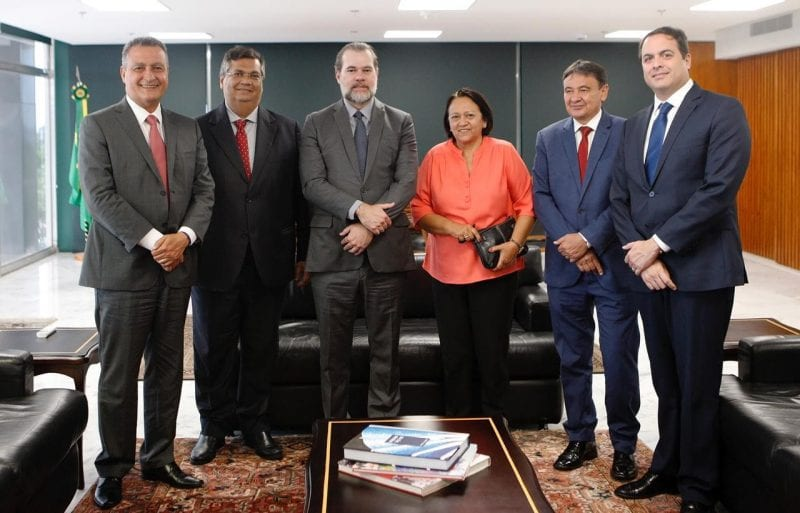 Governadora Fátima vai ao STF e pede prioridade no julgamento de ações que beneficiam estados