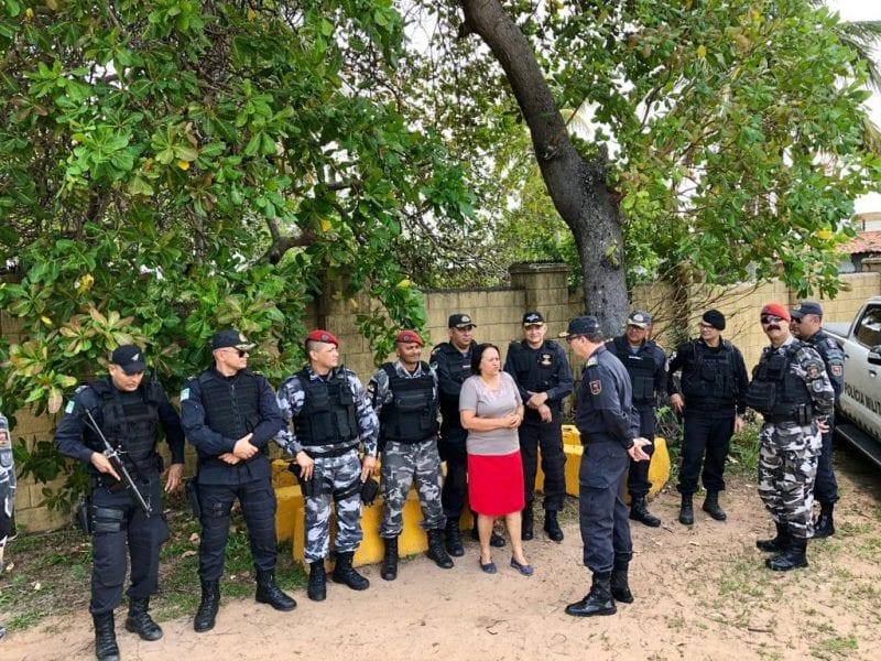 Governadora visita Operação Verão em Pium e destaca atuação das polícias