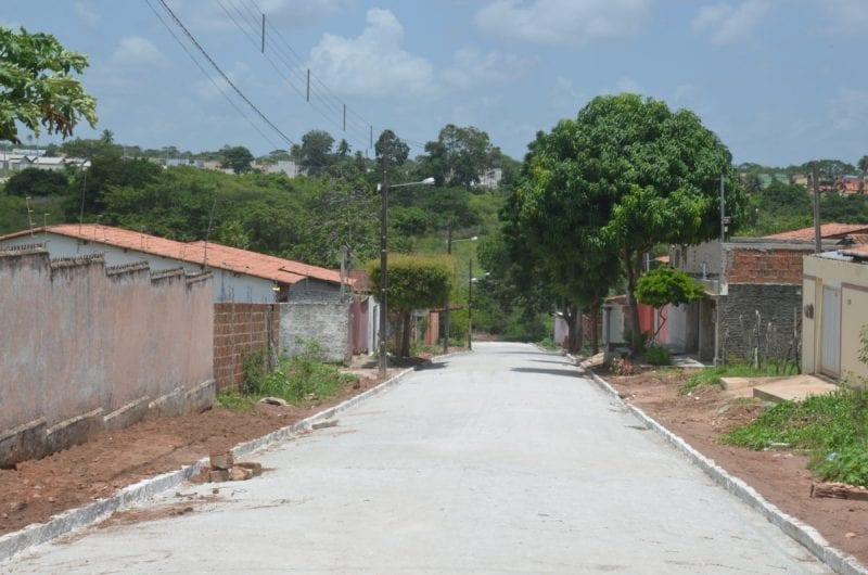 Prefeitura inaugura obras de pavimentação no Loteamento Marbella