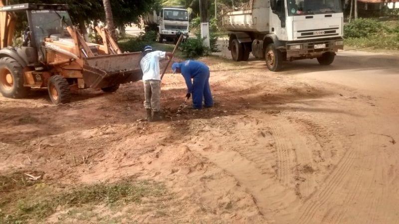 Operação limpeza chega a Praia de Santa Rita, em Extremoz