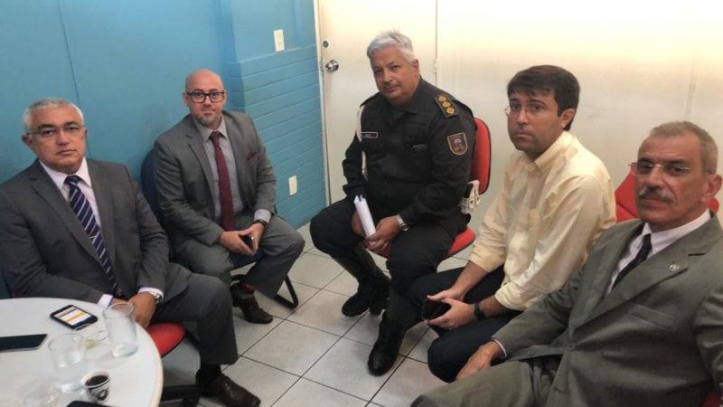 Deputado Ezequiel Ferreira viabiliza parceria para segurança em Serra Negra do Norte