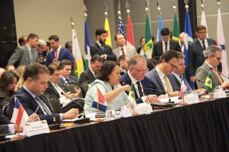 Durante encontro dos governadores, Fátima Bezerra critica proposta da Reforma da Previdência