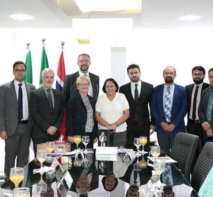 Governadora discute investimentos no RN com a cônsul-geral da Noruega