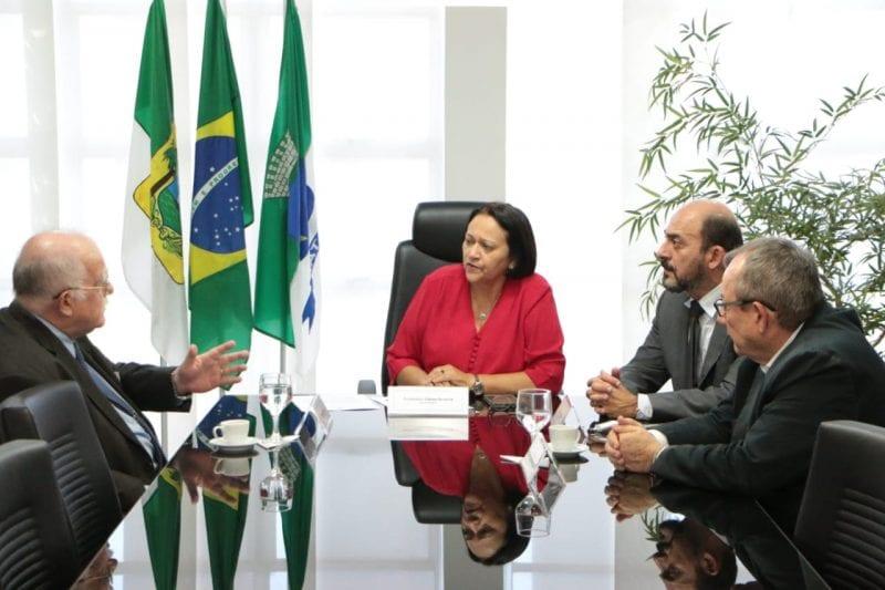 Presidente da Codern se reúne com a governadora Fátima Bezerra