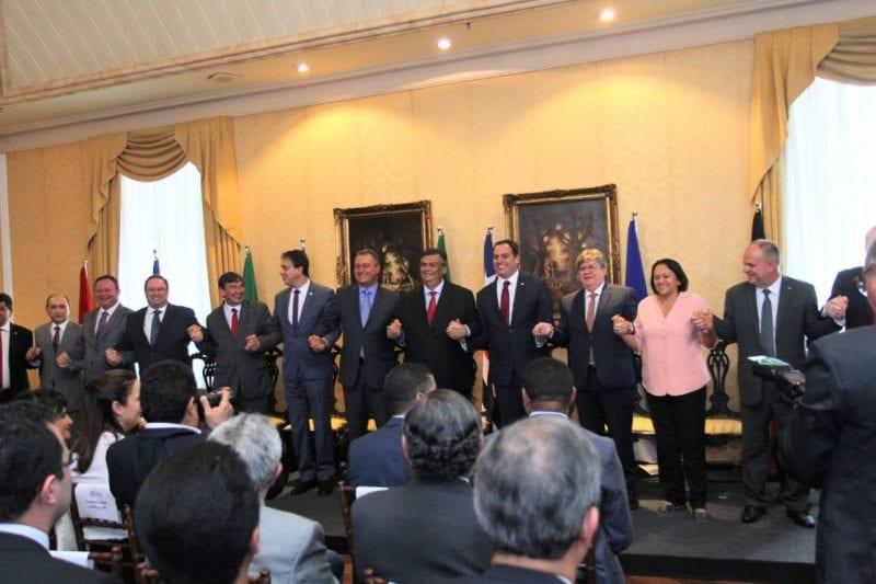 Governadores criam Consórcio Nordeste para melhorar ações, investimento e eficiência