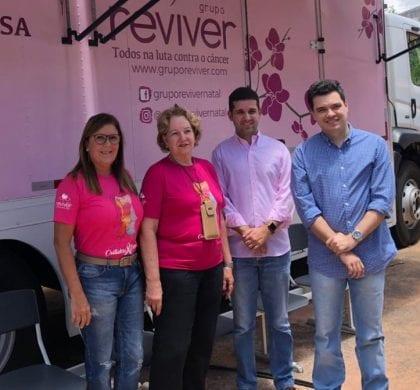 Deputado Walter Alves visita mutirão do Grupo Reviver