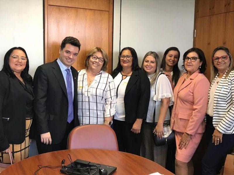 Em Brasília, Garibaldi e Walter Alves se reúnem com prefeitas do RN