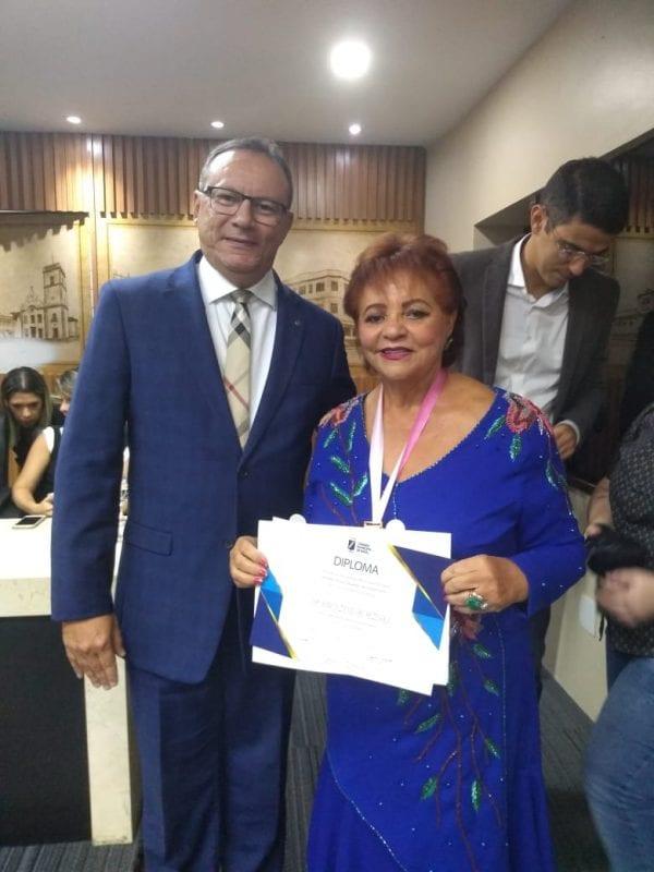 Legado da Desembargadora Zeneide Bezerra tem o reconhecimento do mandato do vereador Raniere Barbosa
