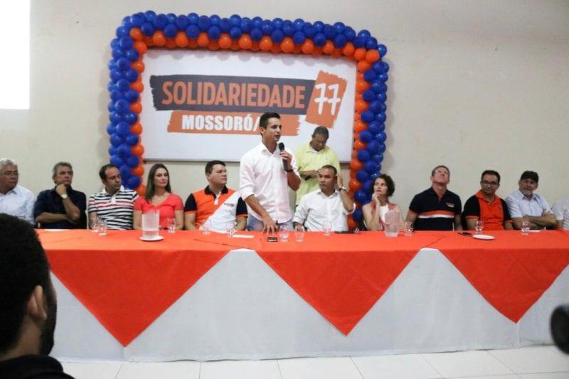 Deputado Allyson Bezerra é empossado presidente do Solidariedade Mossoró