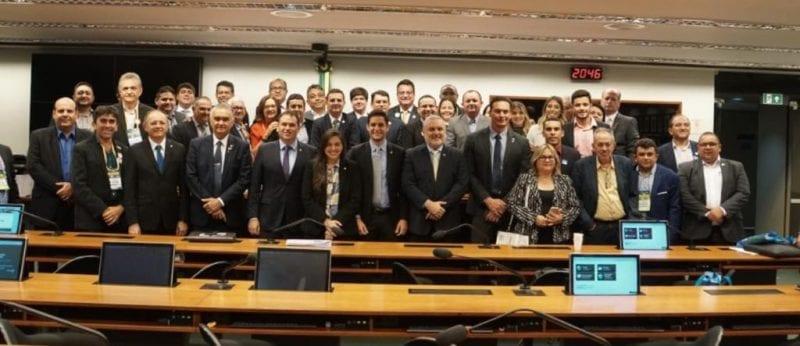 Bancada federal do RN se reúne com prefeitos, em Brasília