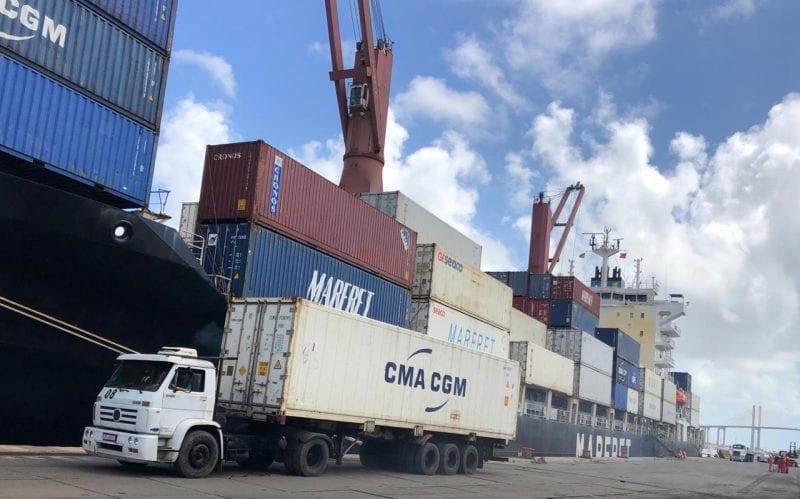 CMA CGM retoma operações no Porto de Natal