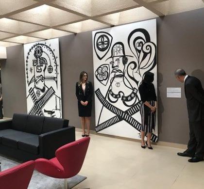 TRE-RN recebe doação de obras do artista Azol