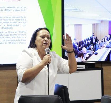 Fórum de Governadores referendou proposta de Fátima para novo Fundeb