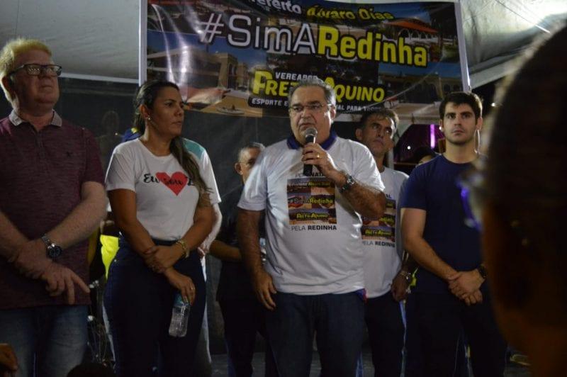 Prefeito Álvaro Dias reúne lideranças em defesa de reforma do mercado da Redinha vetado pela bancada federal