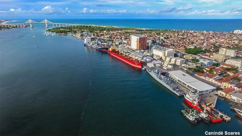 Porto de Natal registra movimentação intensa de navios