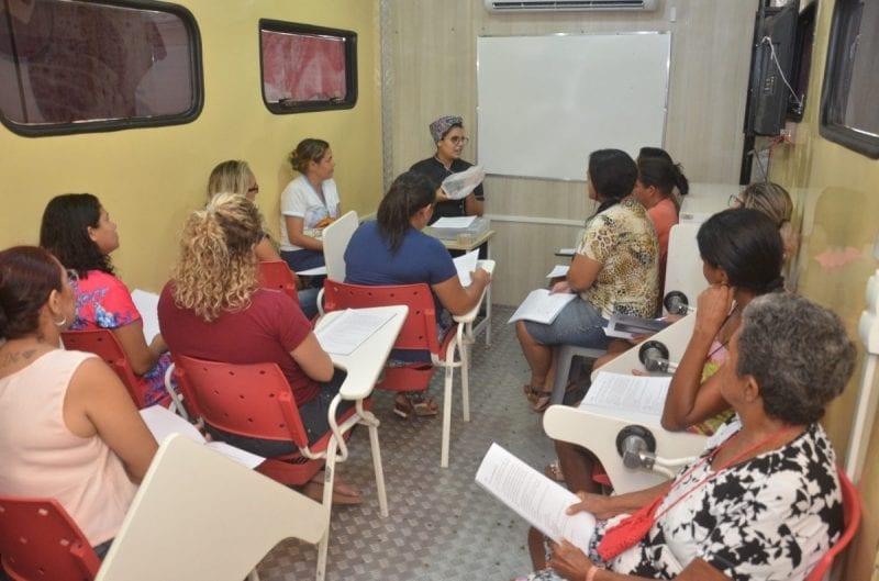 Qualificação: moradores do Ruy Pereira recebem cursos de qualificação