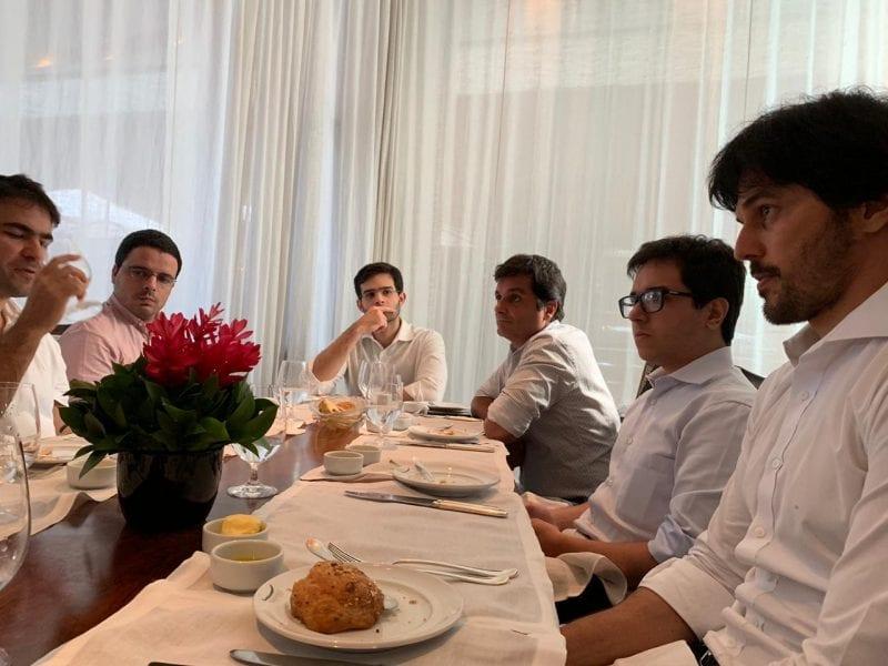 """Resultado de imagem para """"A classe política tem uma responsabilidade muito grande com a economia do nosso Brasil"""", diz Fábio Faria em almoço com investidores"""