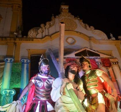A Paixão de Cristo: grupos teatrais encenam espetáculo em São Gonçalo do Amarante