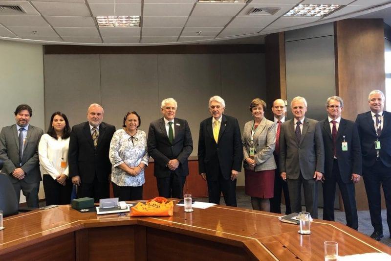 Deputado  João Maia participa de reuniões com Petrobras e ANP para discutir produção no RN