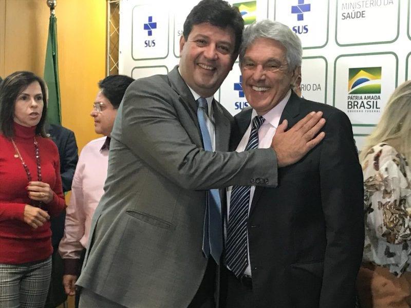 Deputado João Maia participa do lançamento do Programa Saúde na Hora