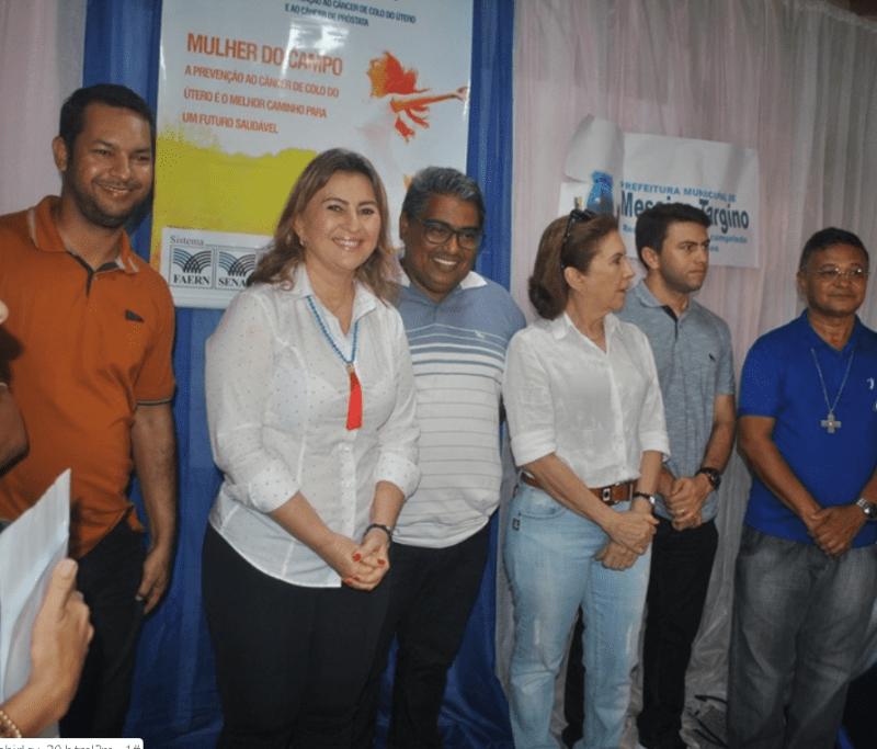 Prefeita de Messias Targino realiza projeto Bem Viver