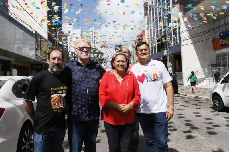 Governadora sanciona Lei que torna de utilidade pública projeto Viva o Centro