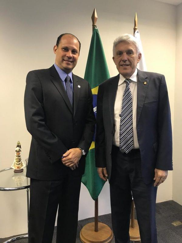 Deputado João Maia e presidente da ANAC conversam sobre voos para Natal