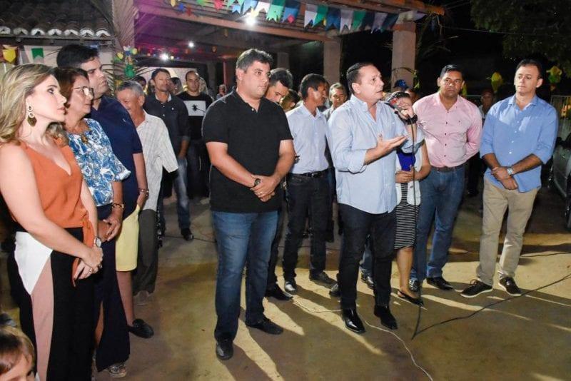Deputado Ezequiel participa de evento em Poço Branco