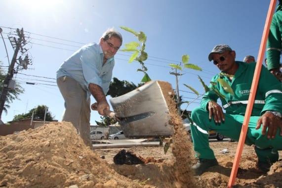 Prefeitura de Natal ultrapassa marca de mil árvores plantadas na cidade