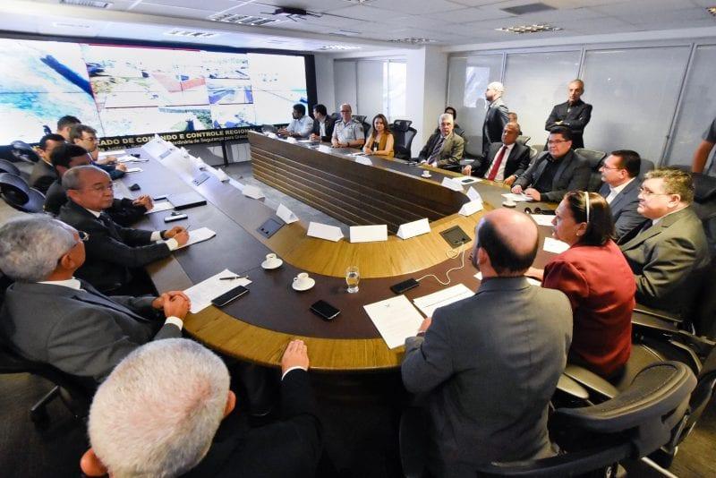 Legislativo se reúne com demais poderes para debater a segurança do RN