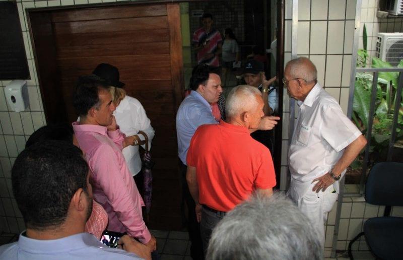 Vereadores da Comissão de Saúde realizam visita ao Hospital Ruy Pereira