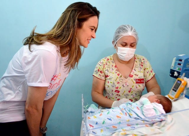 Frente Parlamentar realiza visita fiscalizatória na Maternidade Araken Pinto