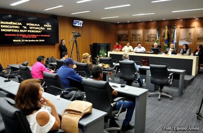 Audiência Pública discute situação do Hospital Ruy Pereira