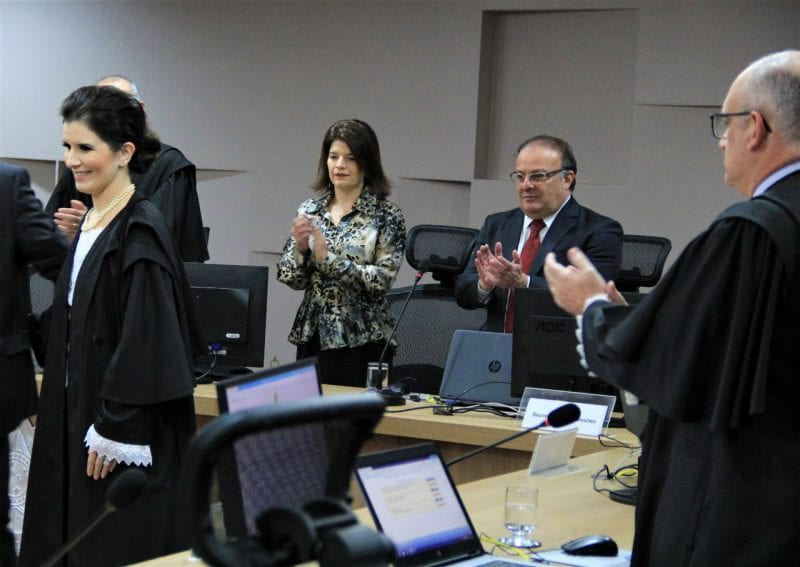 Presidente da Câmara participa de posse da nova juíza do TRE-RN
